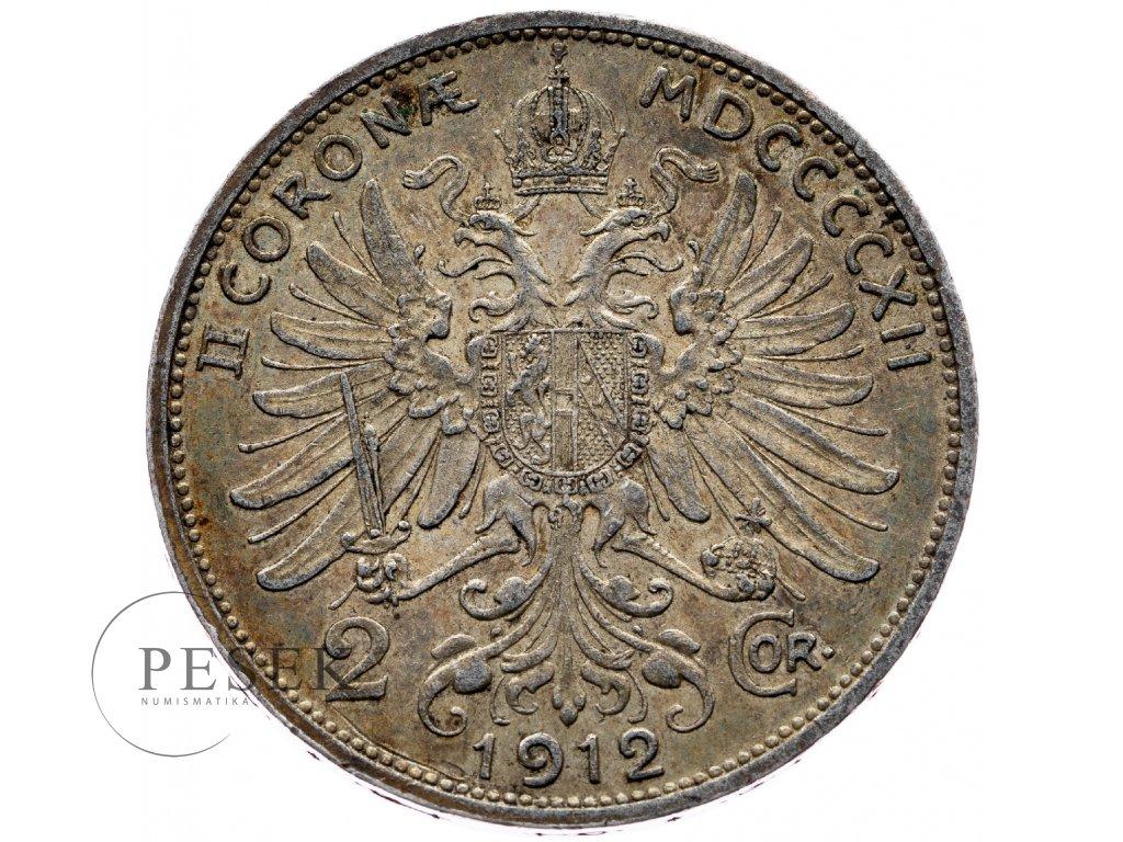 6597 2 koruna 1912 bz