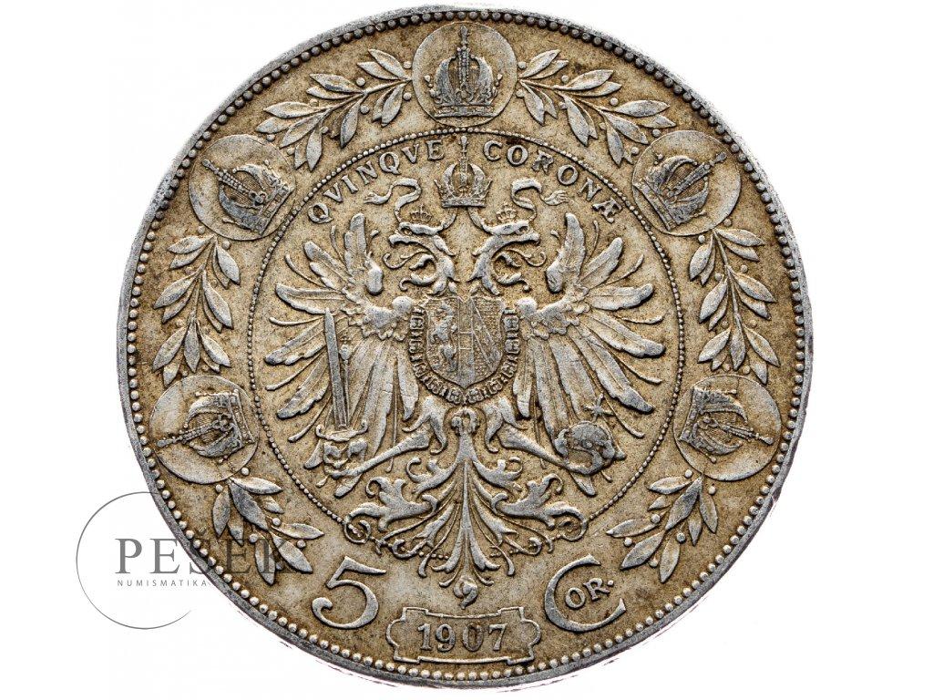 6633 5 koruna 1907