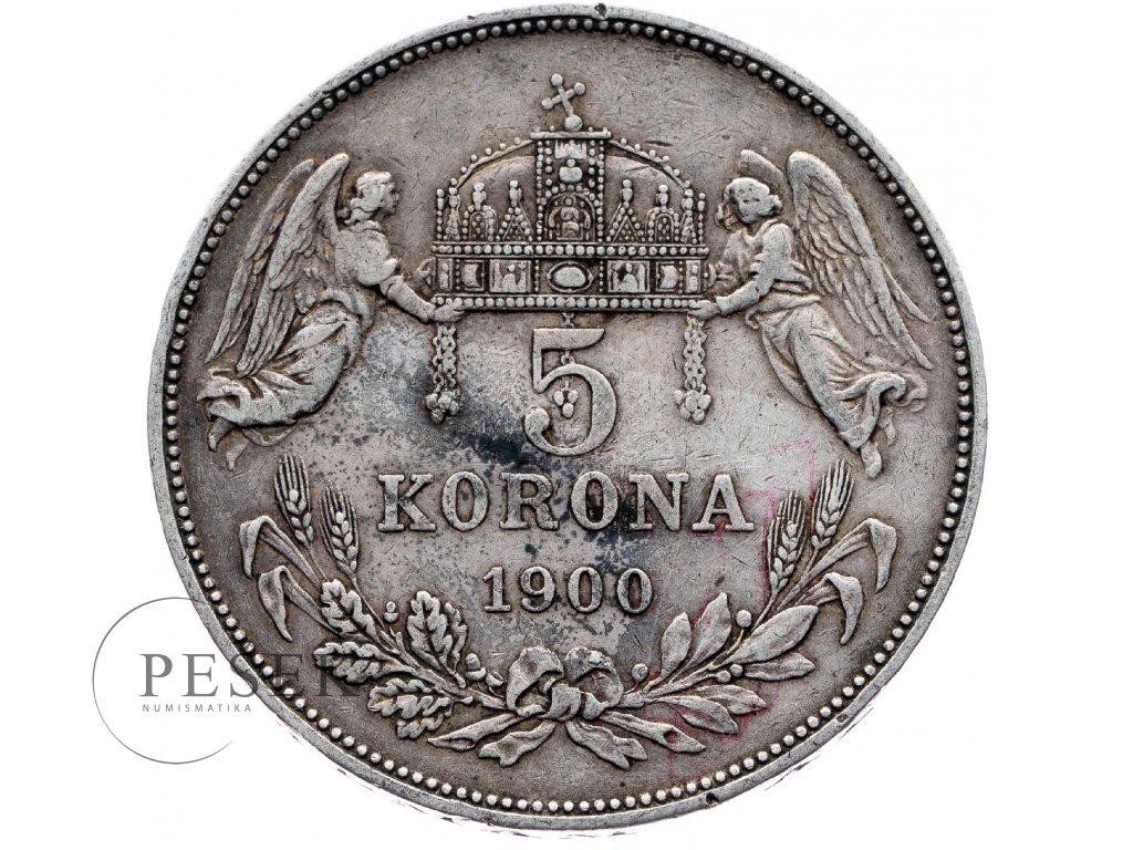 6666 5 koruna 1900 kb
