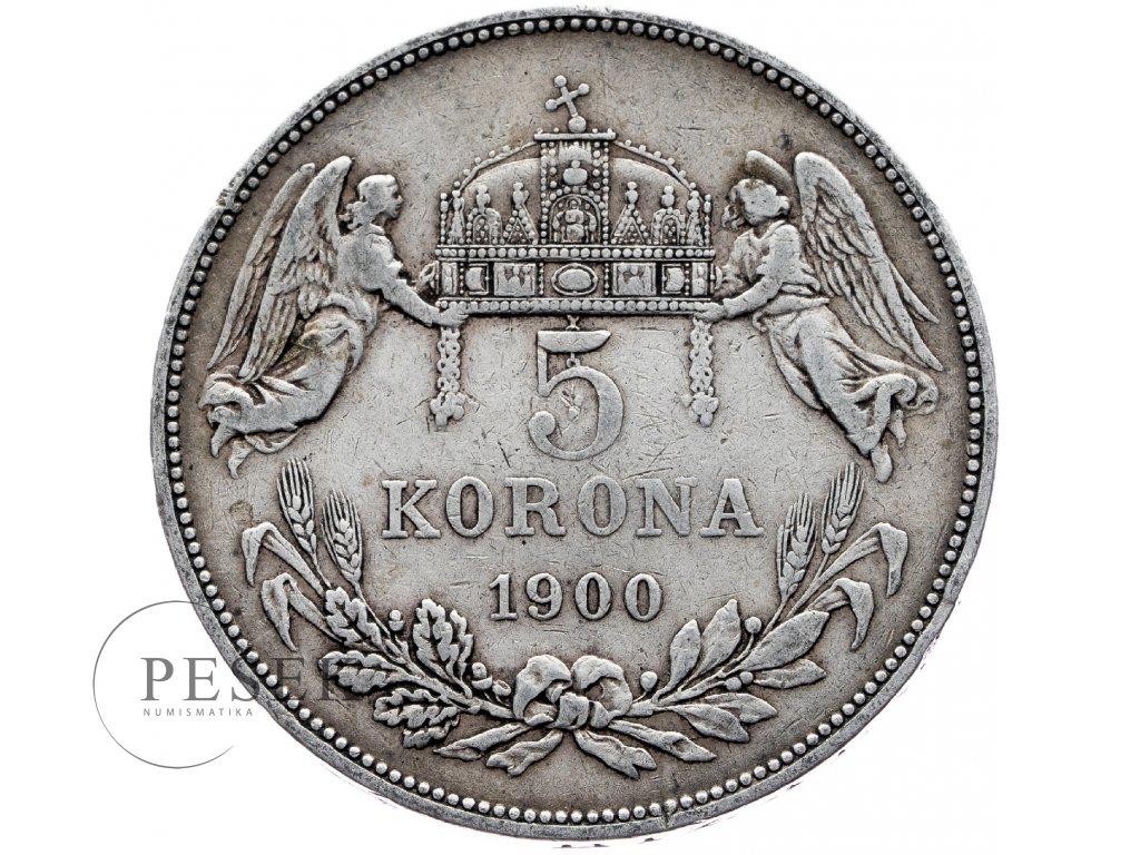 6675 5 koruna 1900 kb