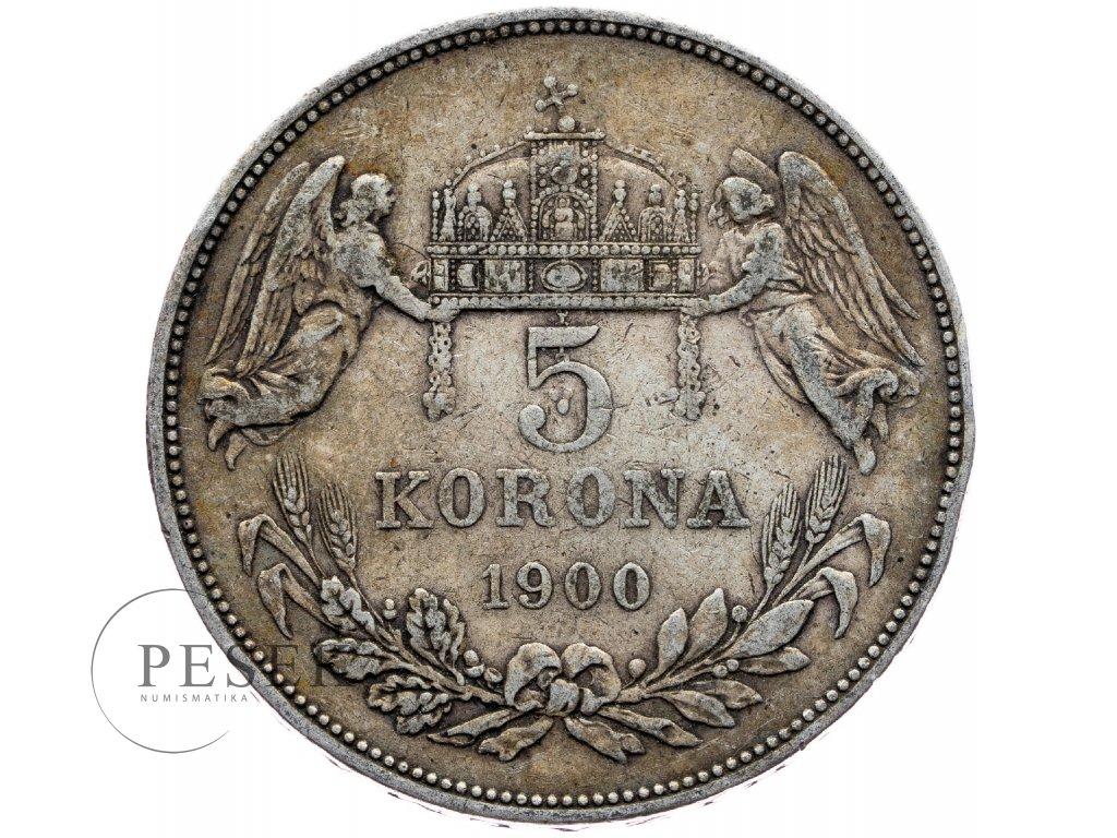 6678 5 koruna 1900 kb