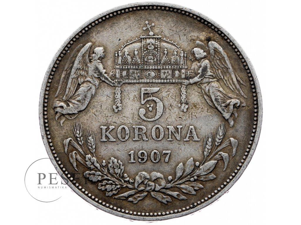 6690 5 koruna 1907 kb