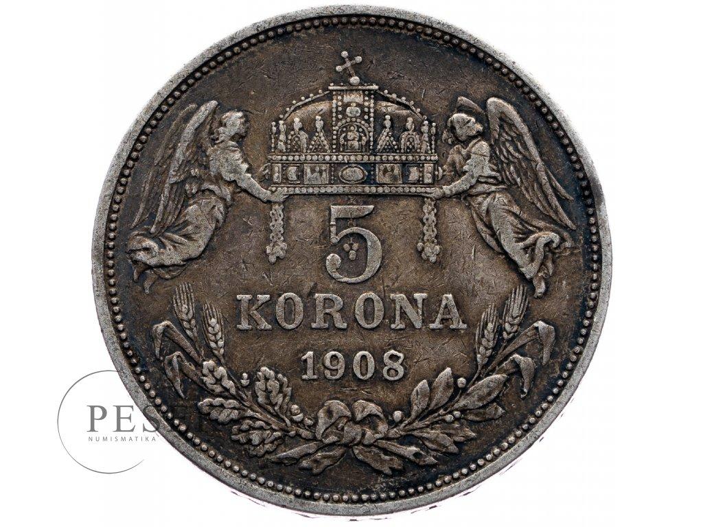 6696 5 koruna 1908 kb