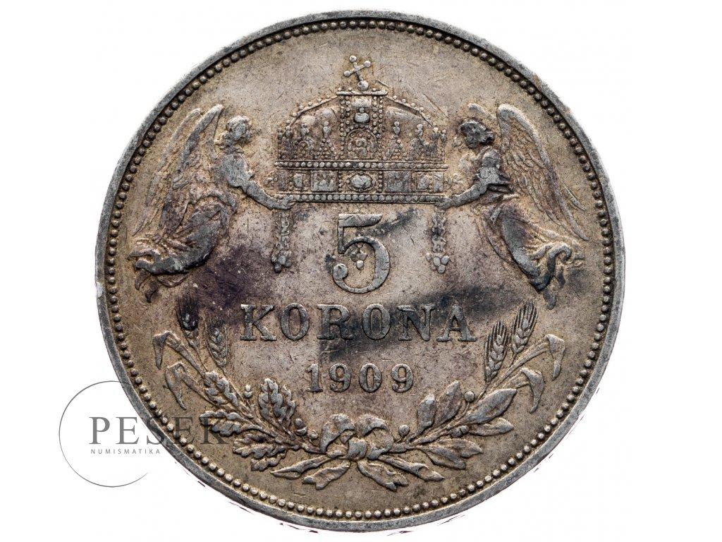 6699 5 koruna 1909 kb