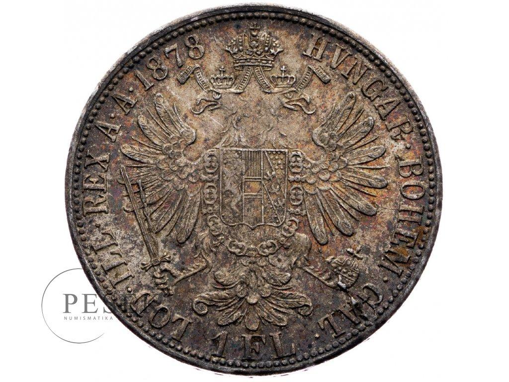 6708 zlatnik 1878 bz