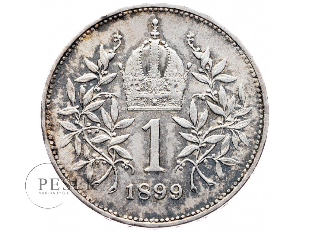 6924 1 koruna 1899 bz