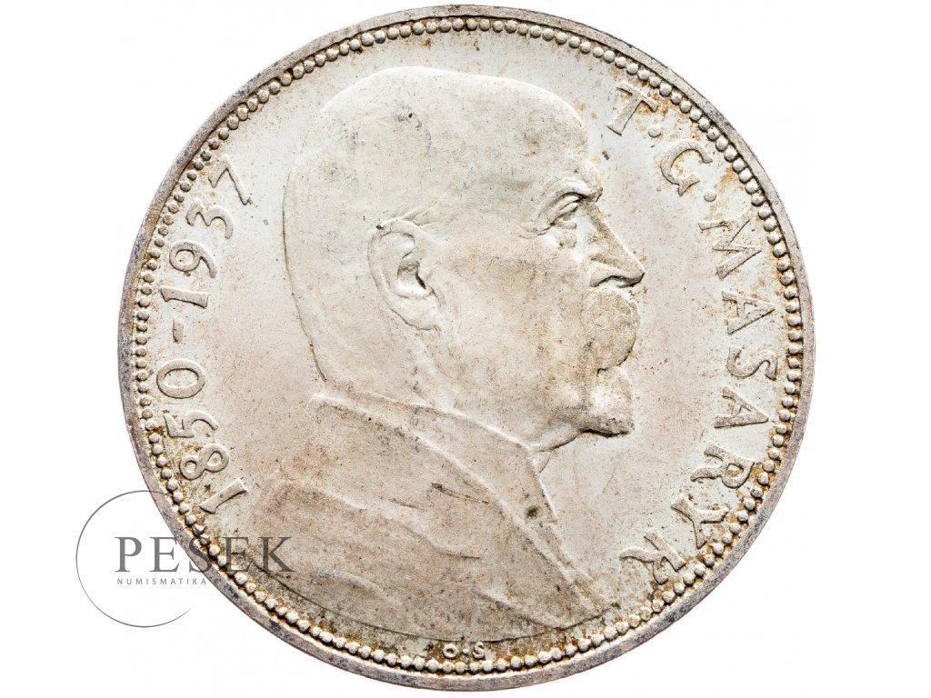 7188 20 koruna 1937 masaryk
