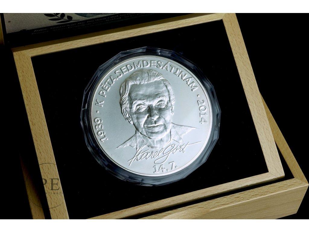 Karel Gott medaile