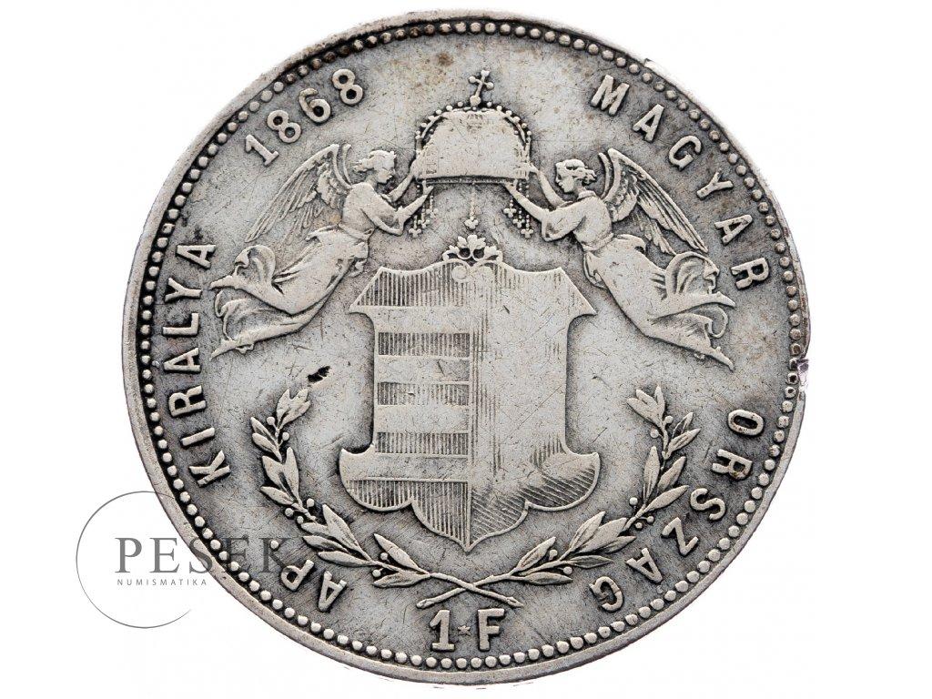 8016 zlatnik 1868 gyf