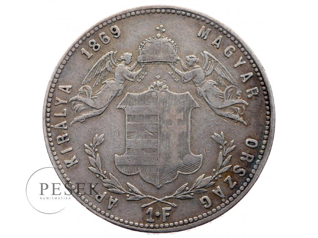 8022 zlatnik 1869 gyf