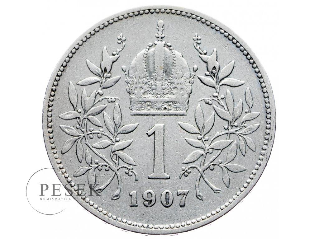 8151 1 koruna 1907 bz