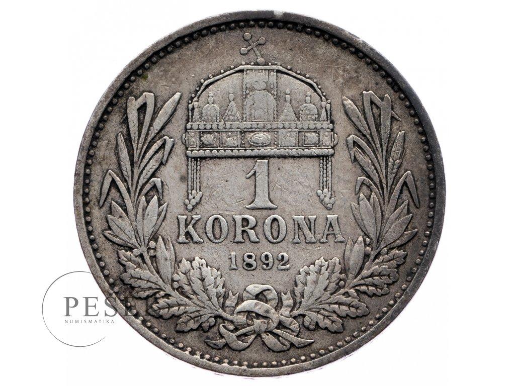 8196 1 koruna 1892 kb