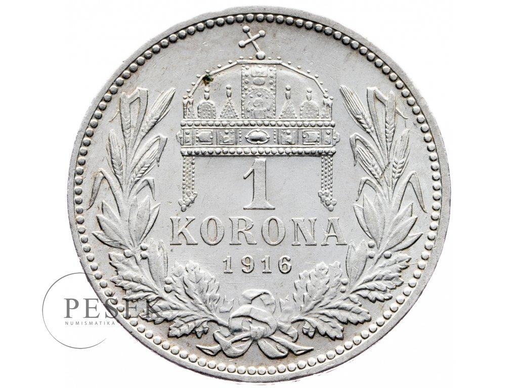 8226 1 koruna 1916 kb