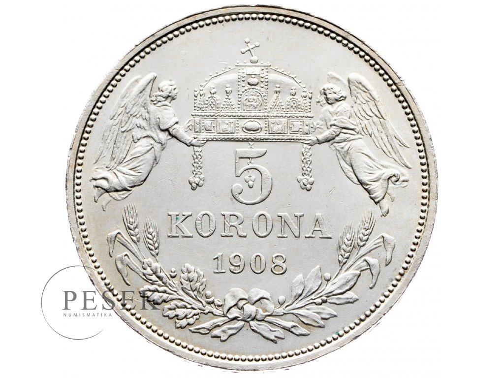 8247 5 koruna 1908 kb