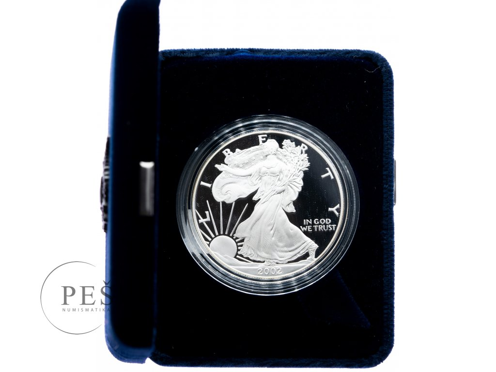 8517 2 american eagle 2002 w proof 31 1g ag 999 9 1000