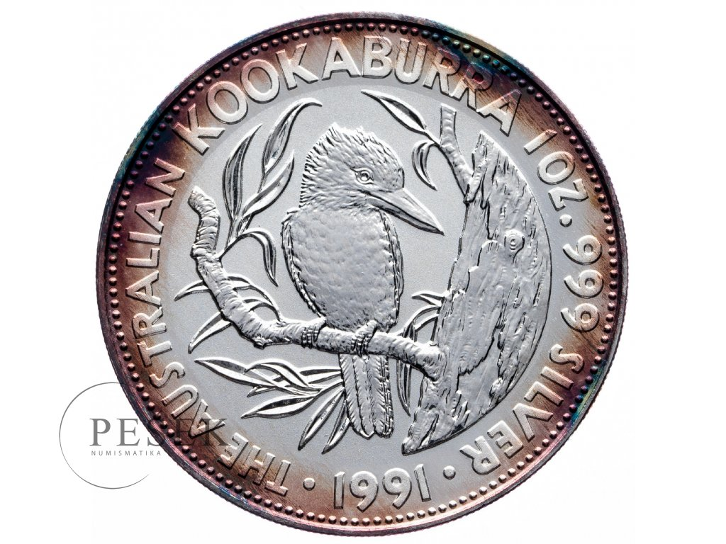 8559 australie kookaburra 1991 31 1g ag 999 1000