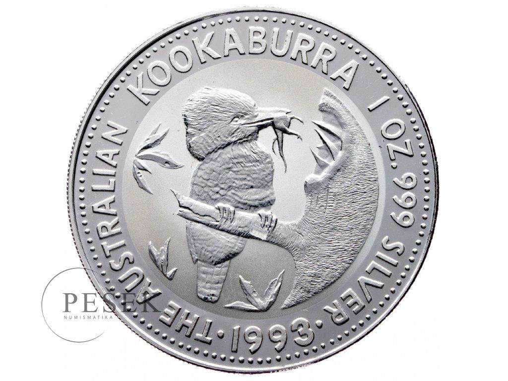 8565 australie kookaburra 1993 31 1g ag 999 1000