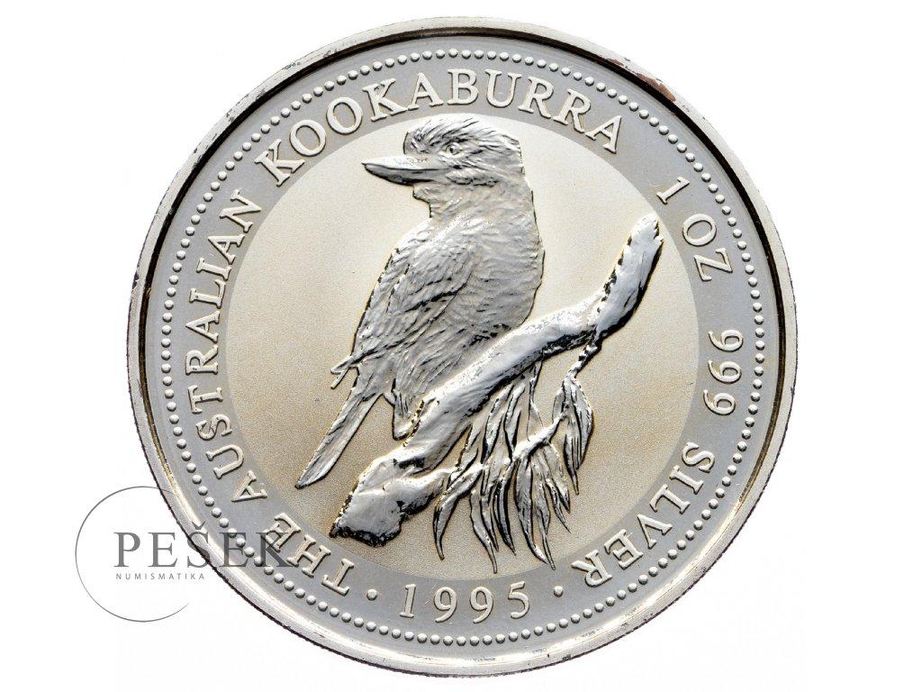 8571 australie kookaburra 1995 31 1g ag 999 1000