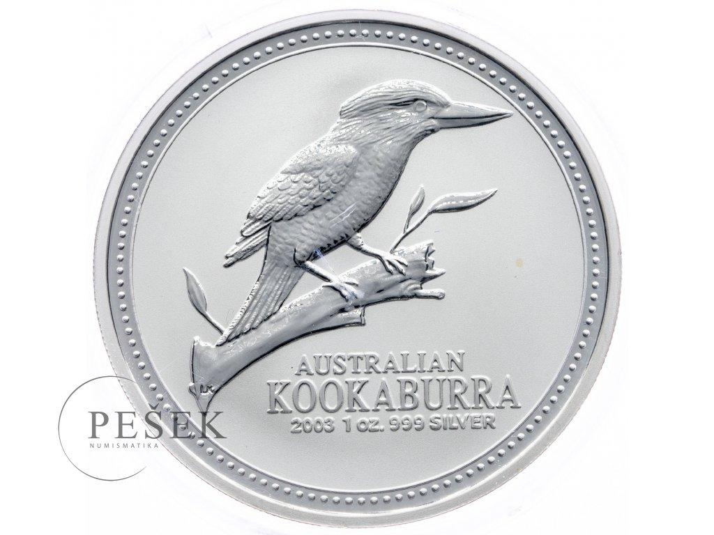 8595 australie kookaburra 2003 31 1g ag 999 1000