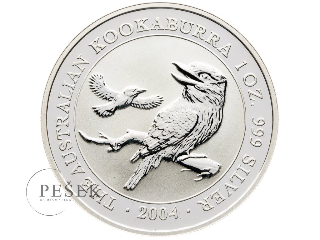 8598 australie kookaburra 2004 31 1g ag 999 1000