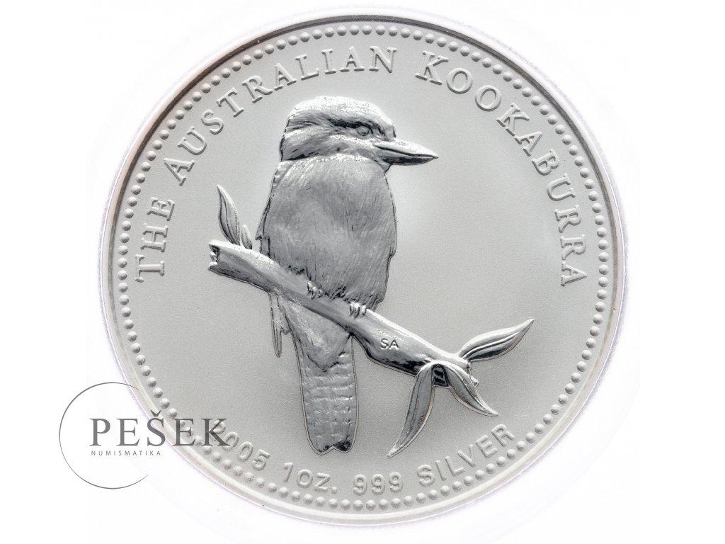 8601 australie kookaburra 2005 31 1g ag 999 1000