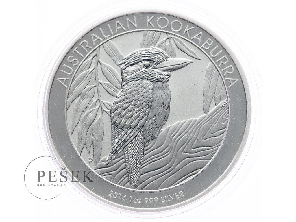 8622 australie kookaburra 2014 31 1g ag 999 1000