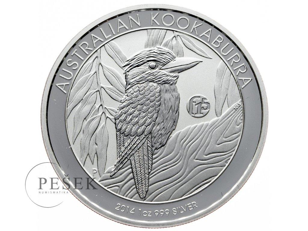 8625 australie kookaburra 2014 f15 31 1g ag 999 1000