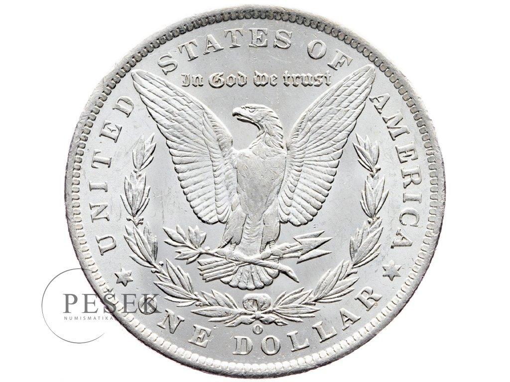 8652 morgan dollar 1885 o