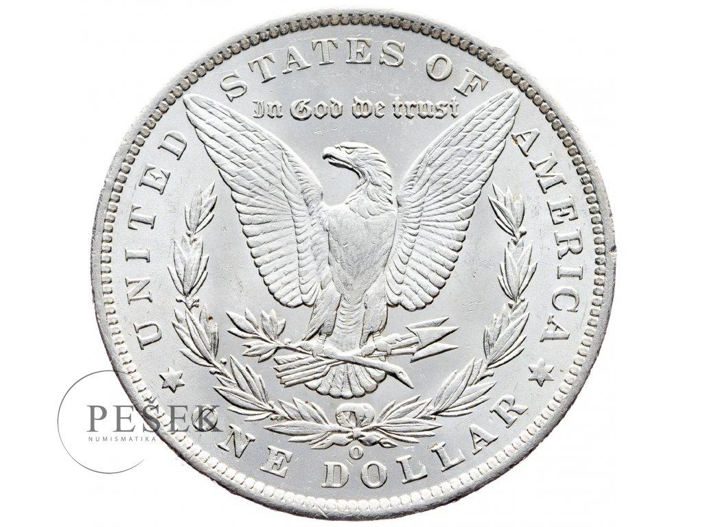 8655 morgan dollar 1885 o