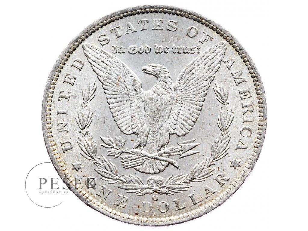 8667 morgan dollar 1885 o