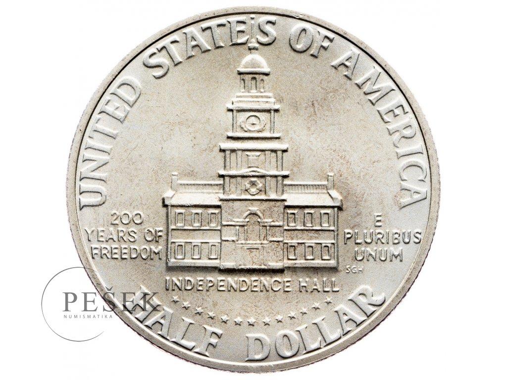 8703 1 2 dollar 1776 1976 s kennedy