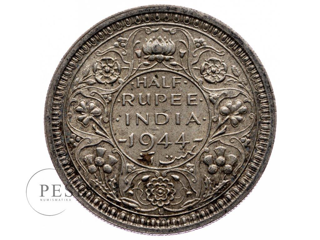 8712 1 2 rupee 1944