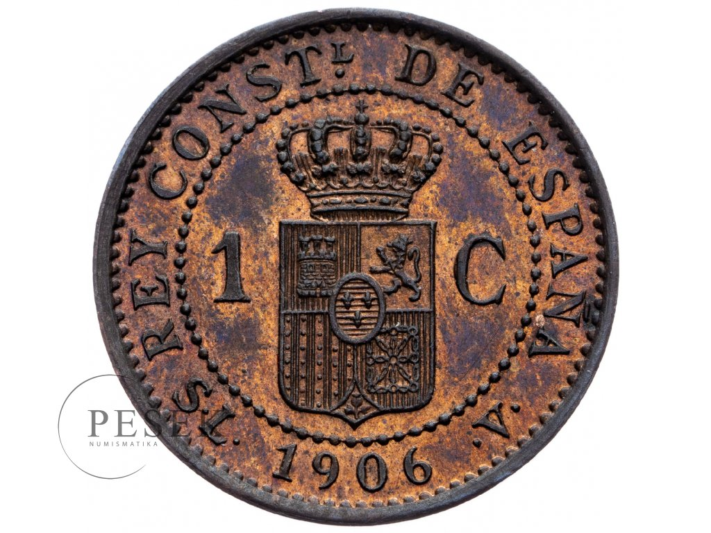 8715 1 centimo 1906