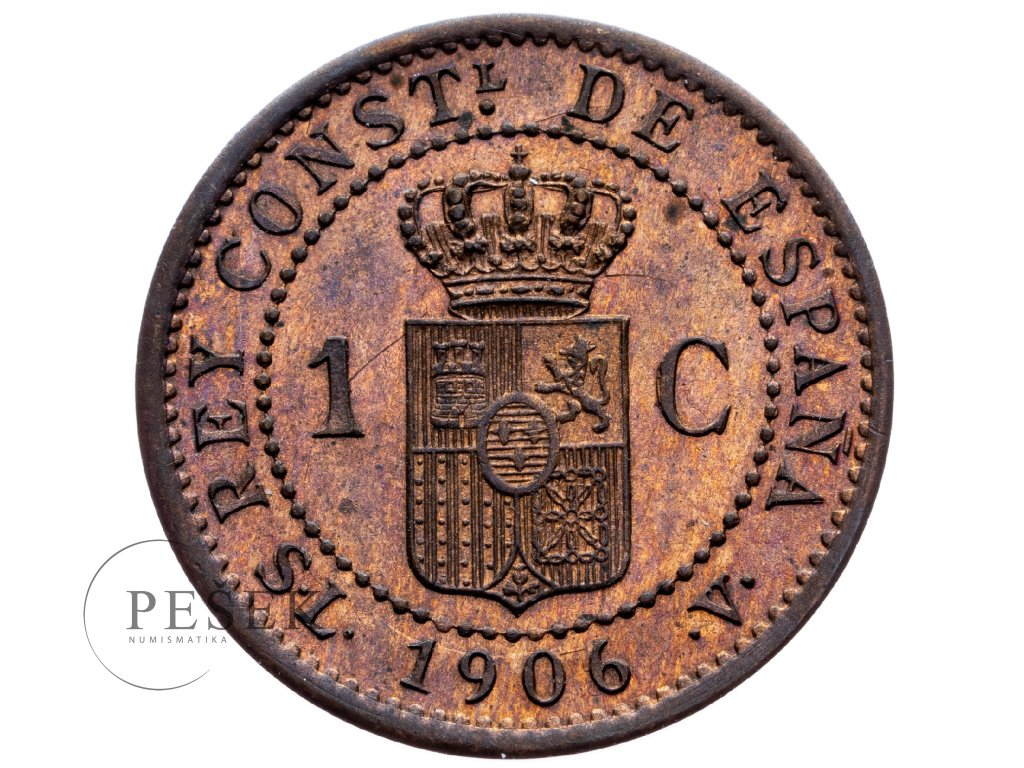 8718 1 centimo 1906