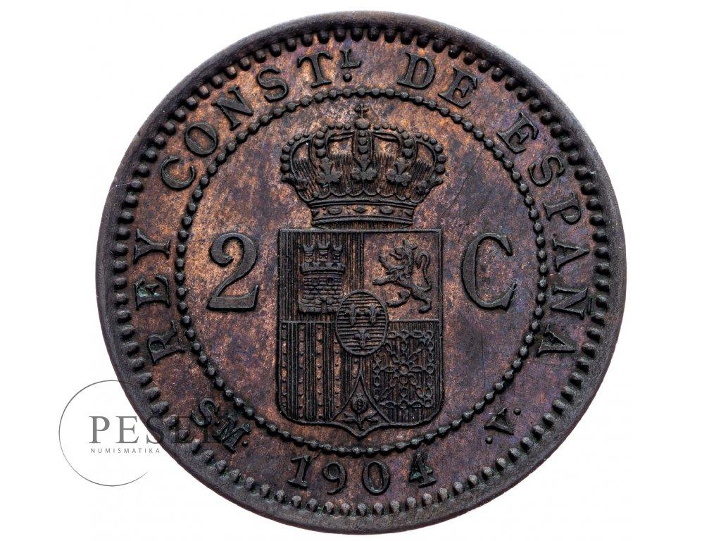 8721 2 centimo 1904