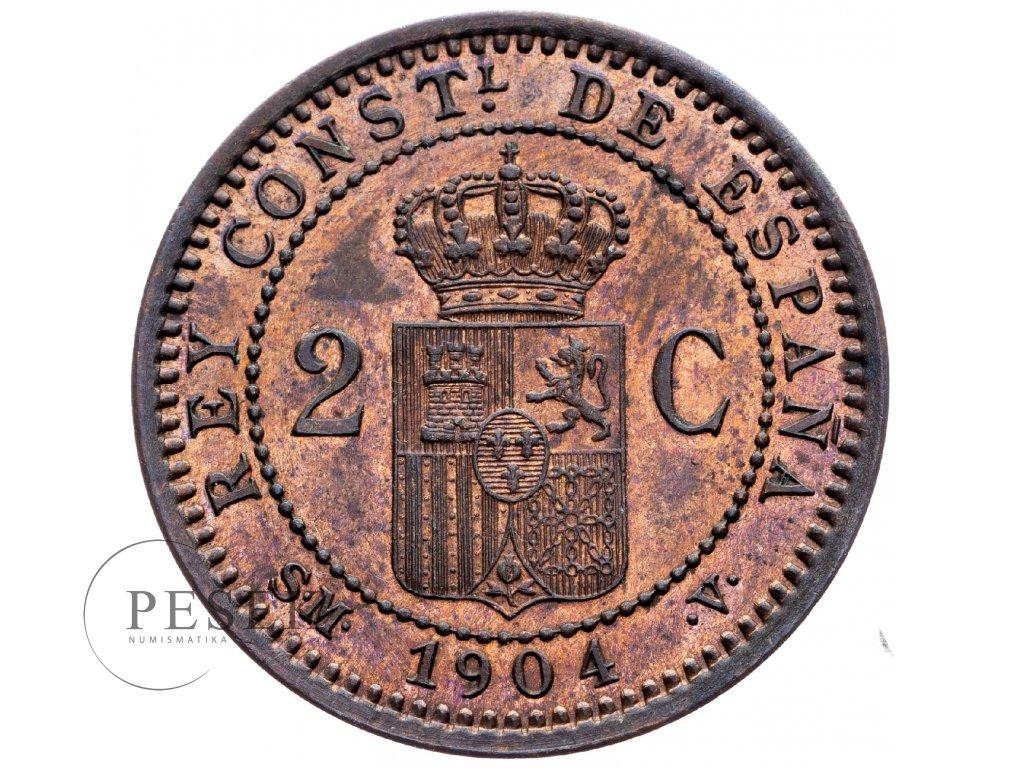 8724 2 centimo 1904