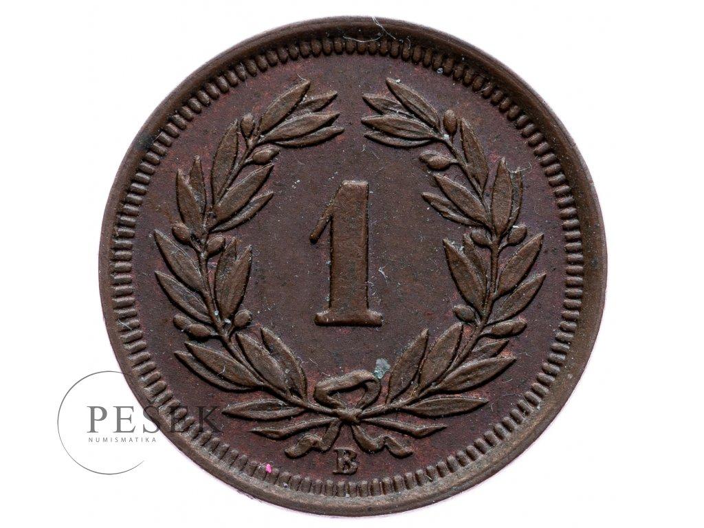 8736 1 rappen 1907