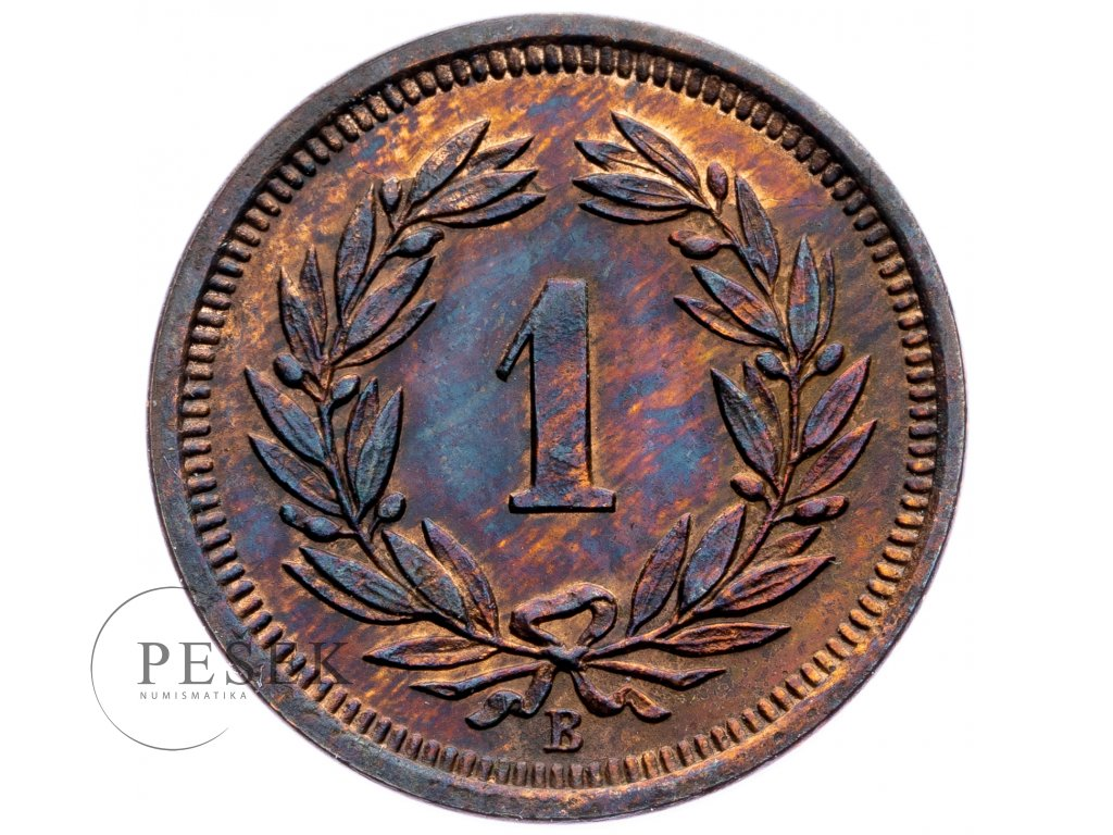 8739 1 rappen 1918