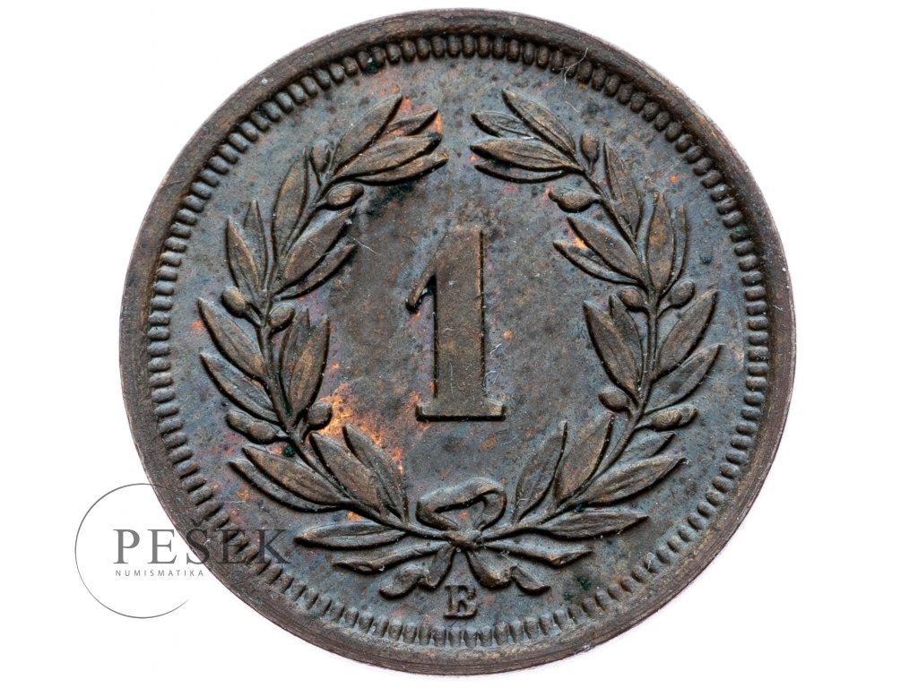 8742 1 rappen 1921
