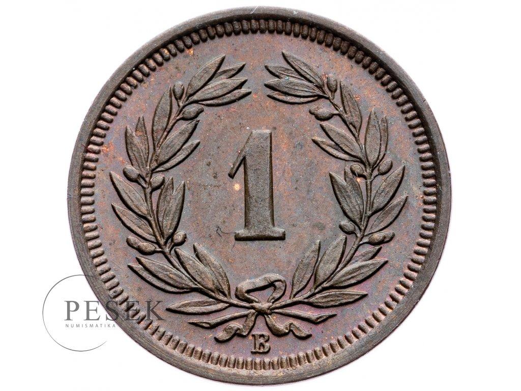 8745 1 rappen 1926