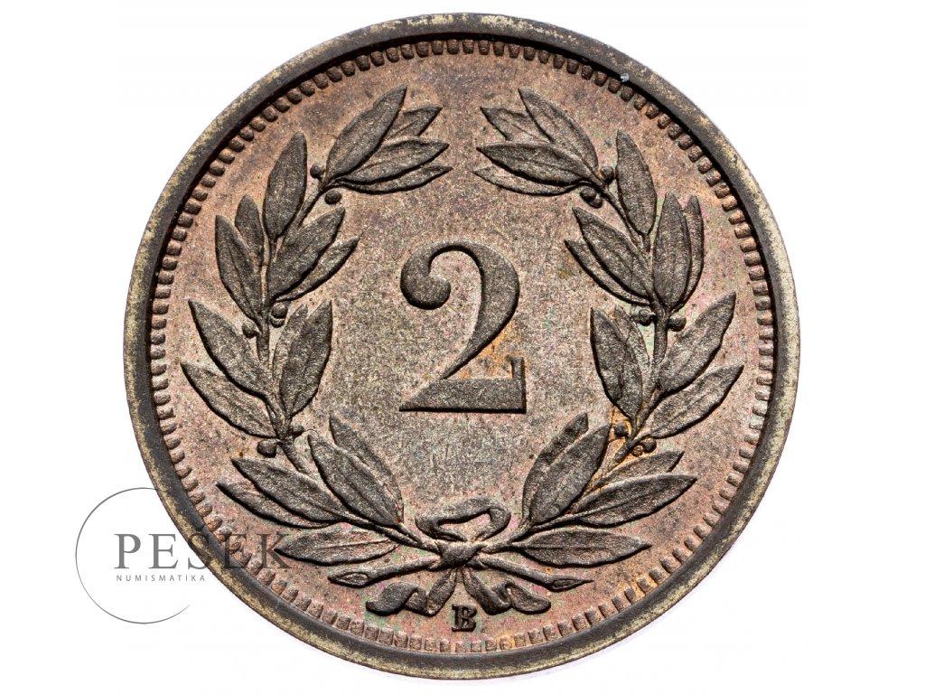 8757 2 rappen 1931