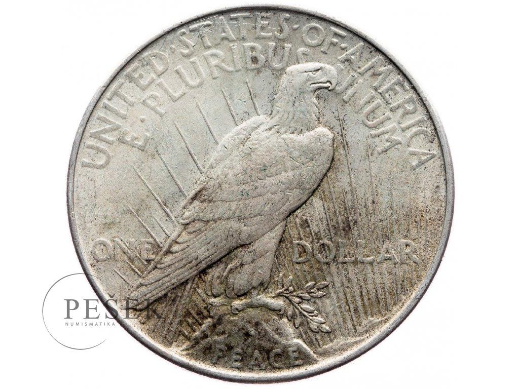 8769 peace dollar 1922