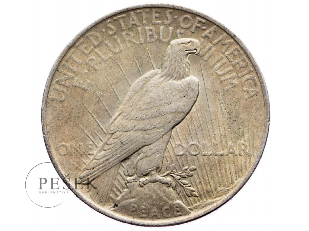 8781 peace dollar 1922