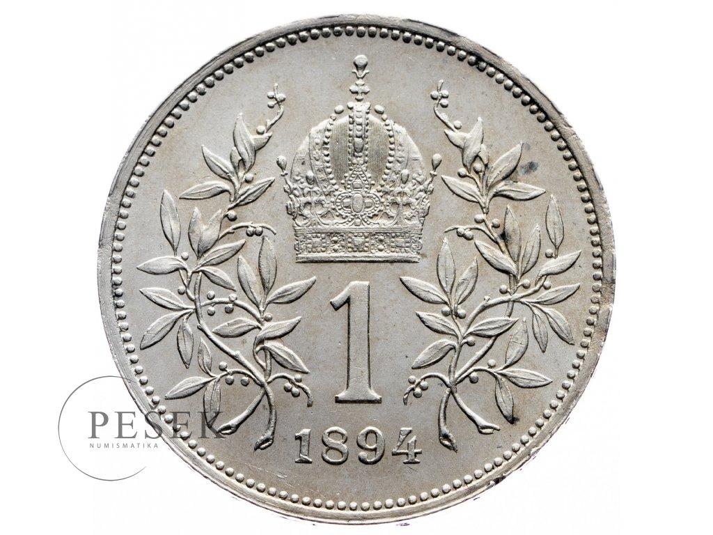 8904 1 koruna 1894 bz