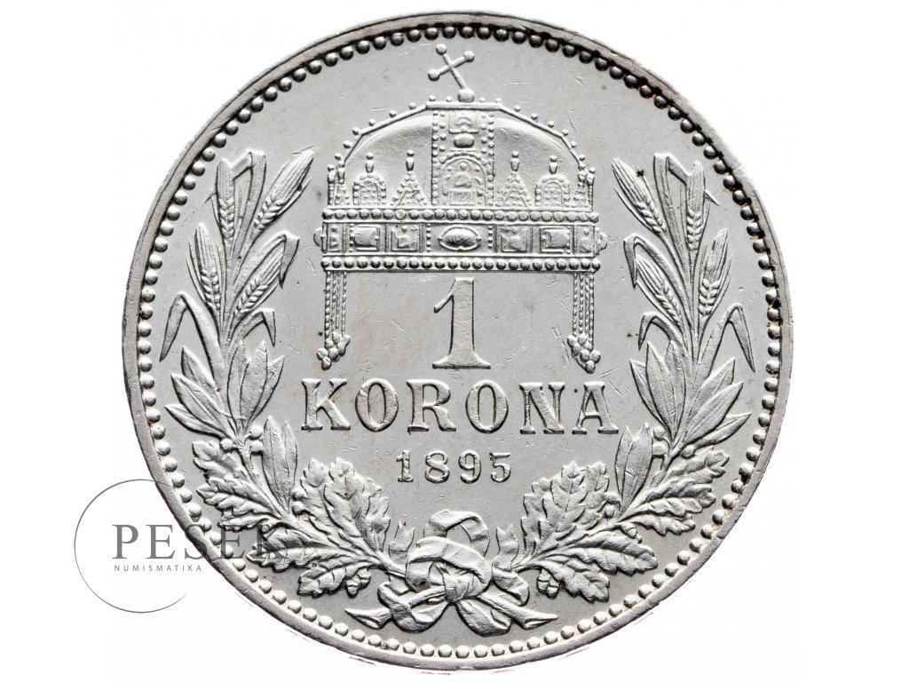 8943 1 koruna 1895 kb