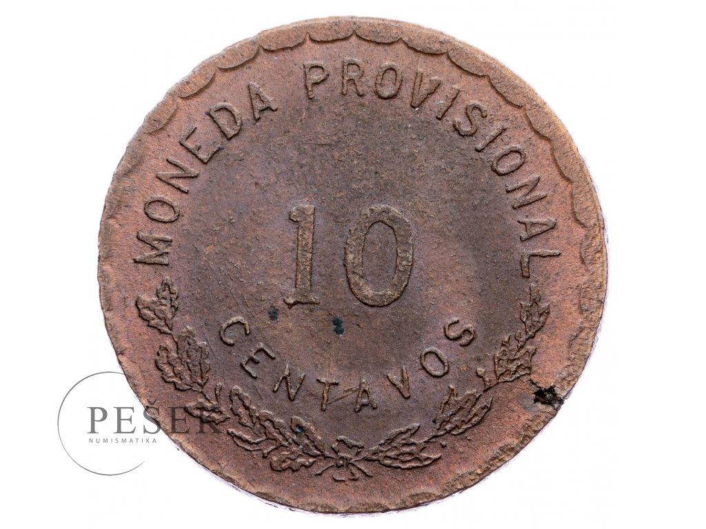 9003 10 centavos 1915