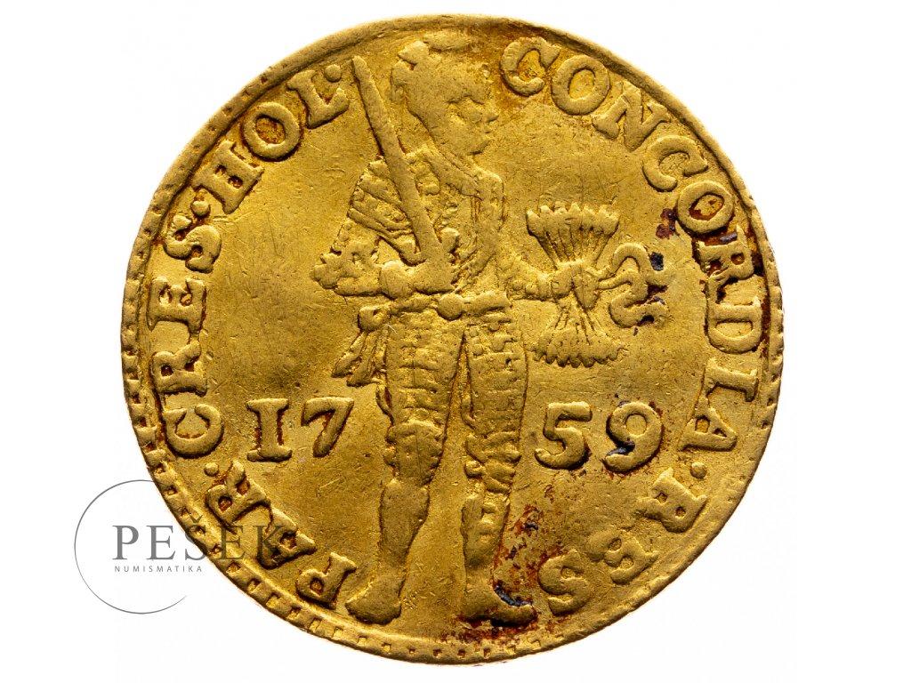 9039 holandsky dukat 1759