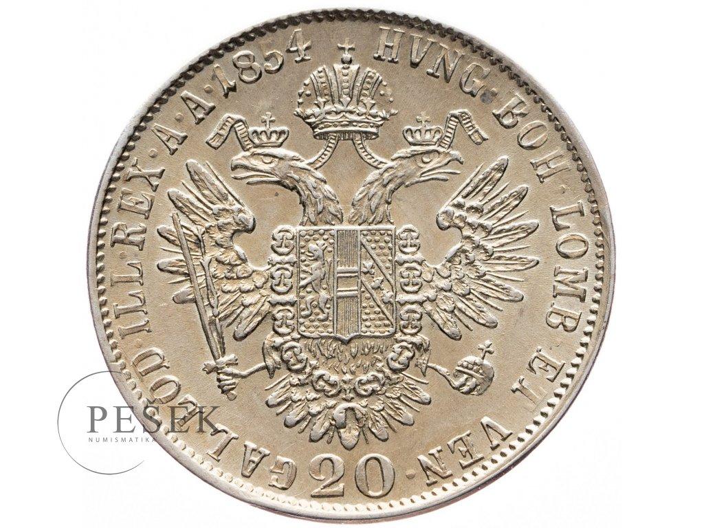 20 Krejcar 1854 C