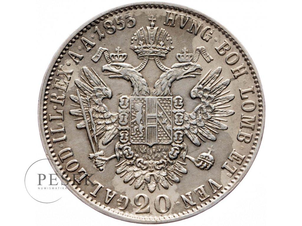20 Krejcar 1855 C
