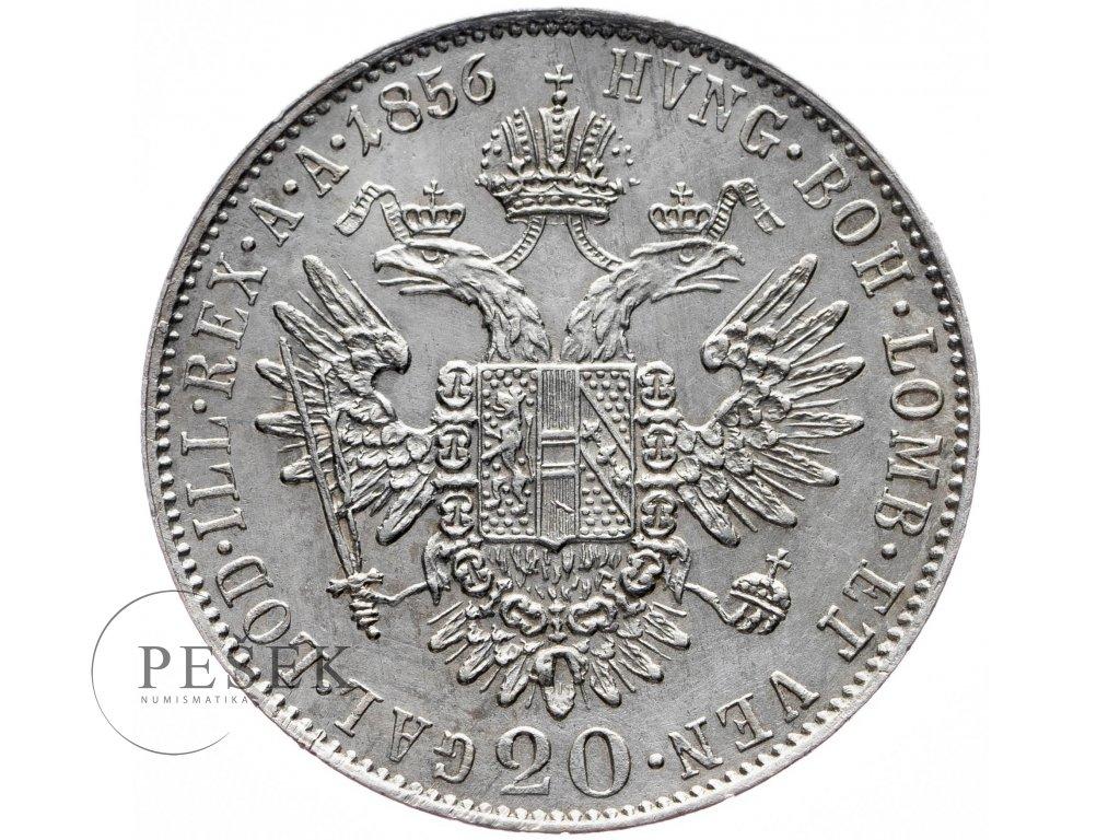 20 Krejcar 1856 E